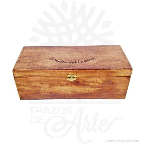 Caja madera de pino y triplex de Okume de 28 x 11 x 11 cm para personalizar – Precio COP