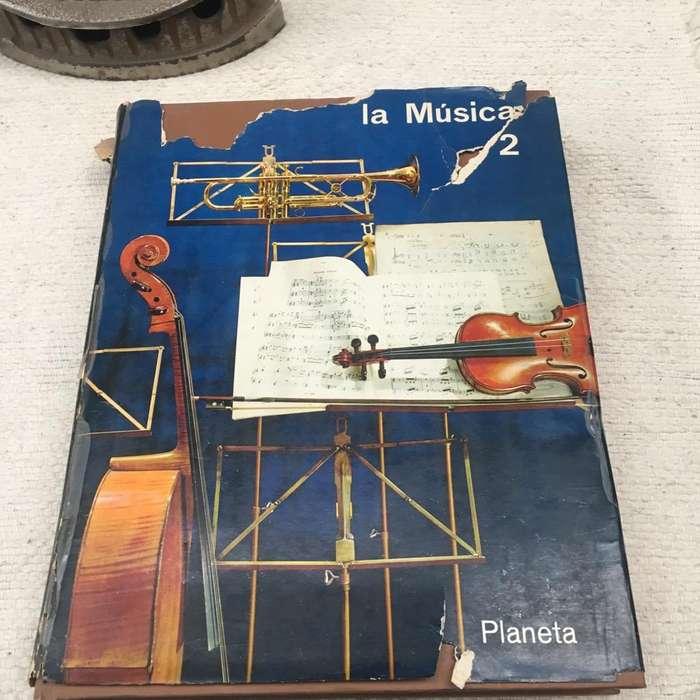 La Musica. Ed Planeta. Coleccion 2Tomos