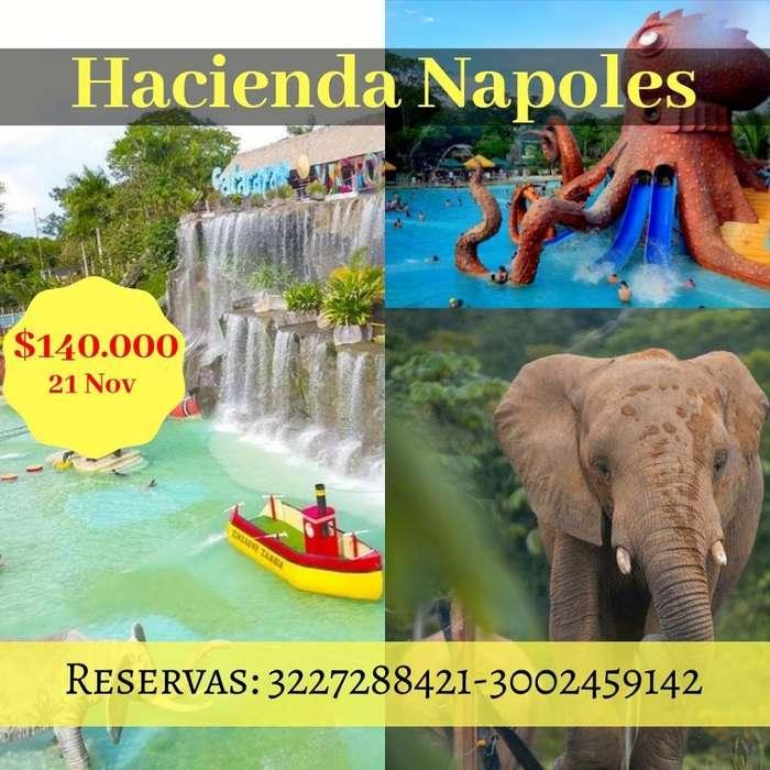 Tour Parque Hacienda Napoles