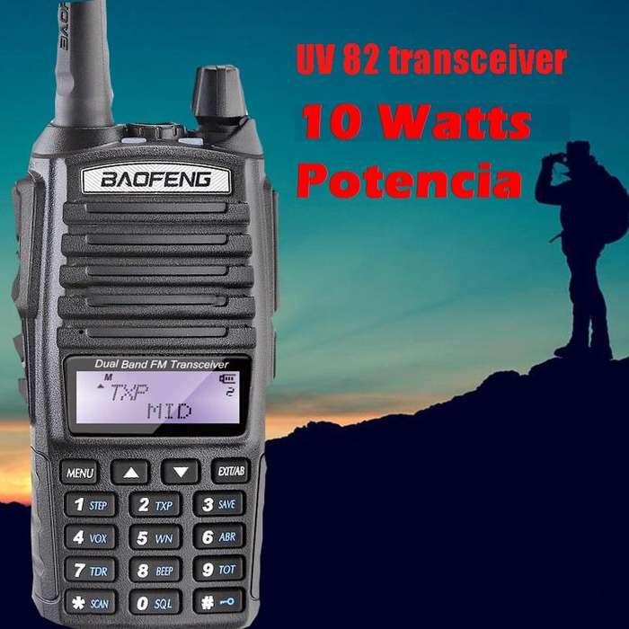 HANDIE Baofeng UB 82 - 10 Watts de Potencia