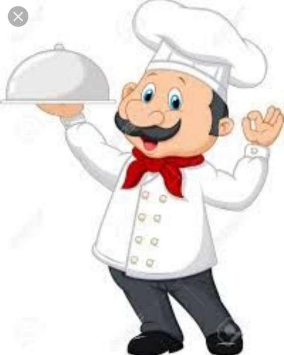 Busco Empleo Como Aux. de Cocina