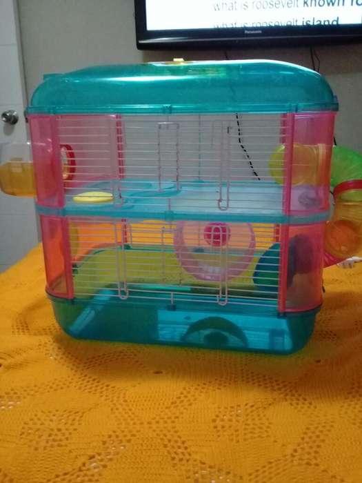 Oferto Jaula de <strong>hamster</strong> de 2 Pisos