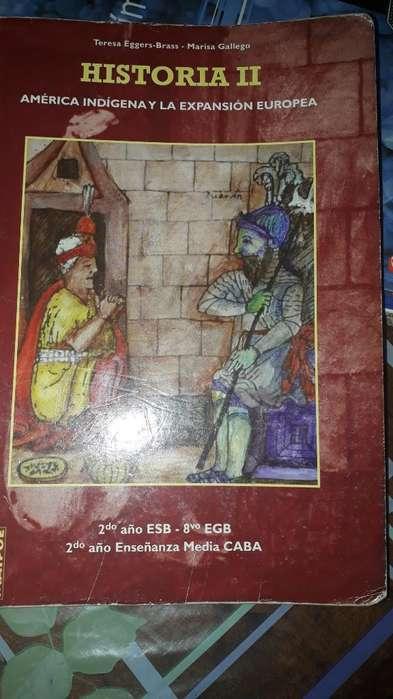 Libro Secundaria Historia 2exelente Estd