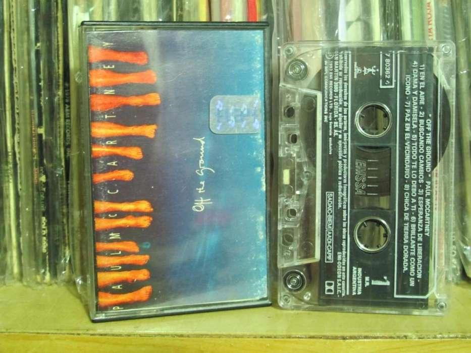 Paul McCartney - Off The Ground - Cassette ARG