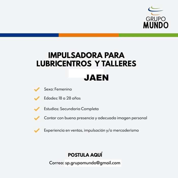 IMPULSADORA DE VENTAS - JAEN