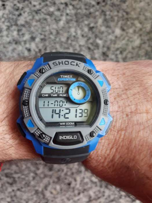 6bb333b7ad56 Reloj  strong timex  strong  Shock