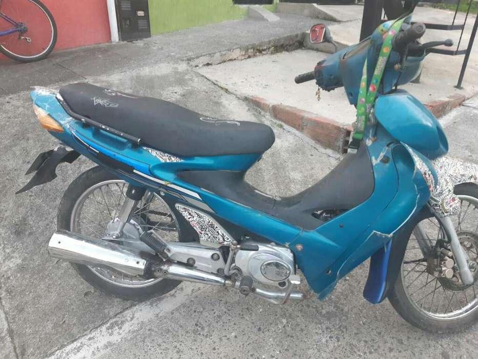 Vendo Moto Kazuki Modelo 2006 sin Papele