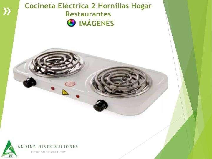 Cocineta Eléctrica 2 Hornillas Hogar Restaurantes