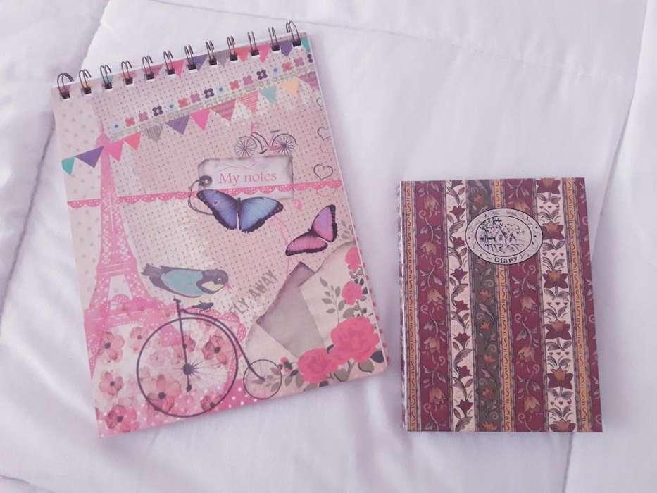 Cuaderno Todo Moda Y cuaderno de Bolsillo