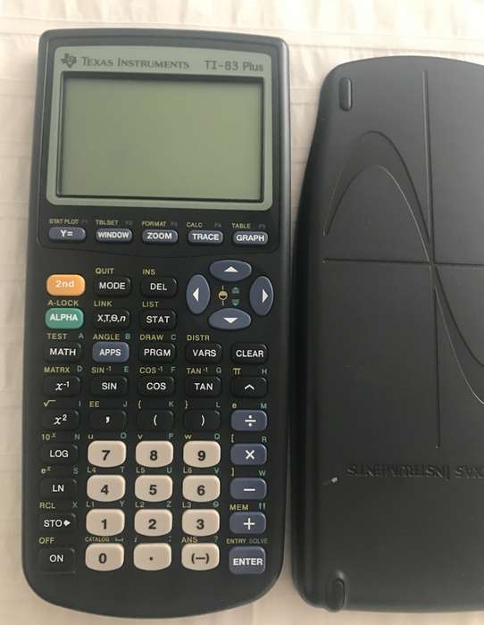 <strong>calculadora</strong> Grafica Texas Instruments TI83 Plus