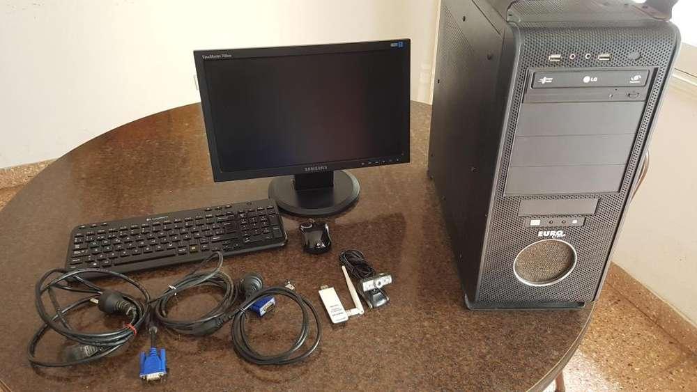Pc Completa con Monitor Y Accesorios