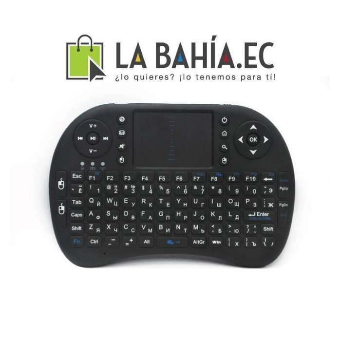 Mini Teclado Wireless Universal Para Tv Smart Y Tv Box