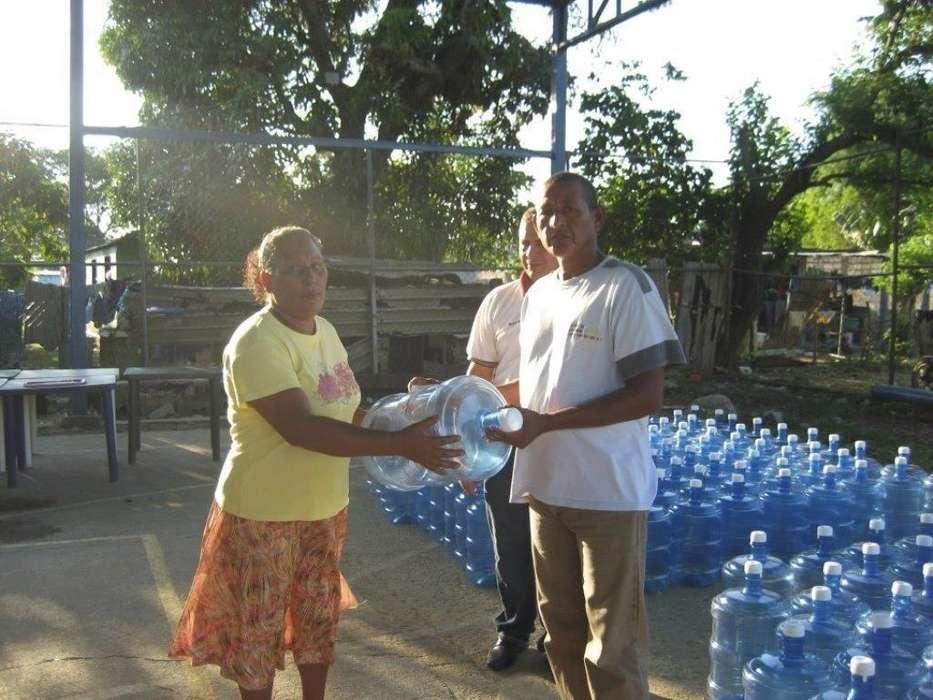 Sistema de agua potable para comunidades rurales