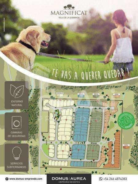 Lote en Venta, Villa de la quebrada 780000