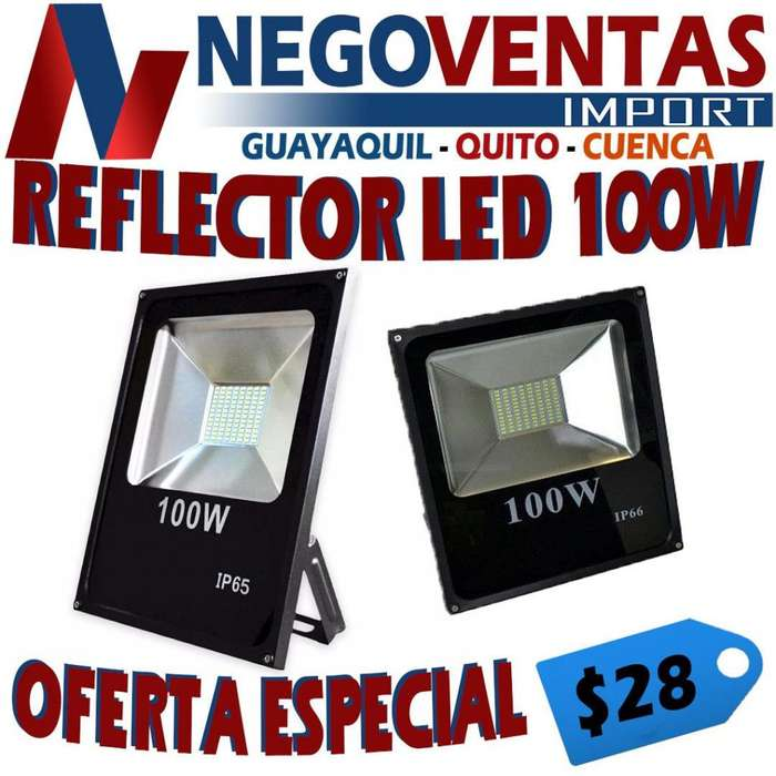 REFLECTOR LED 100 WATTS DE OFERTA