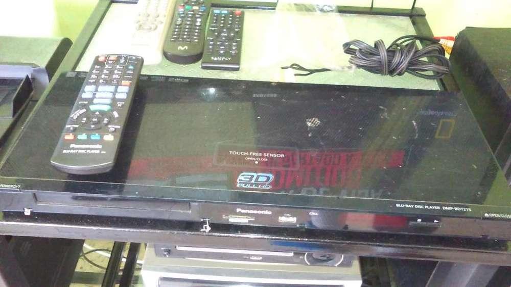 Reproductor BluRay Panasonic 3D