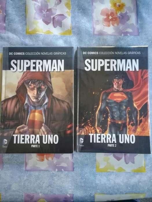 Comics Superman Tierra Uno Vol. 1 Y 2