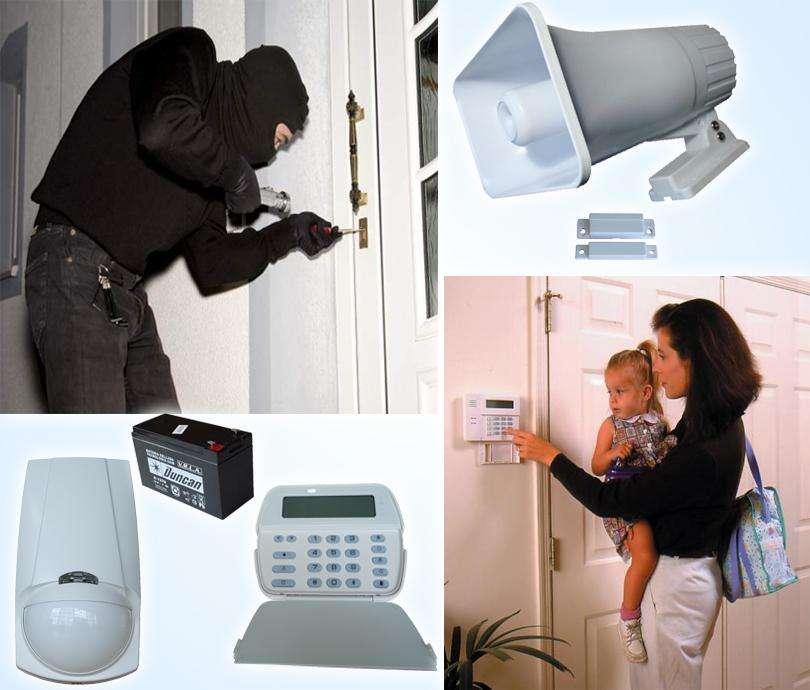 Alarmas contra Robo en Cali. Seguridad con alarma por Internet para casas y empresas.