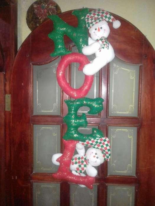 Adorno Navideño Noel