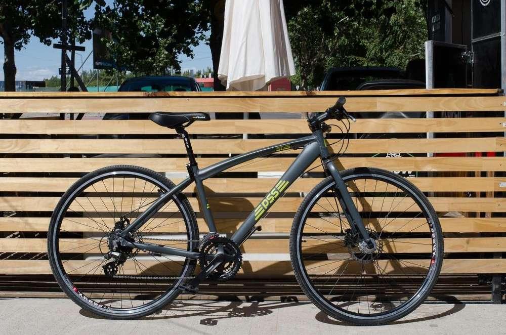 Bicicleta Urbana PSSbikes R28 24 Vel. c/Disco