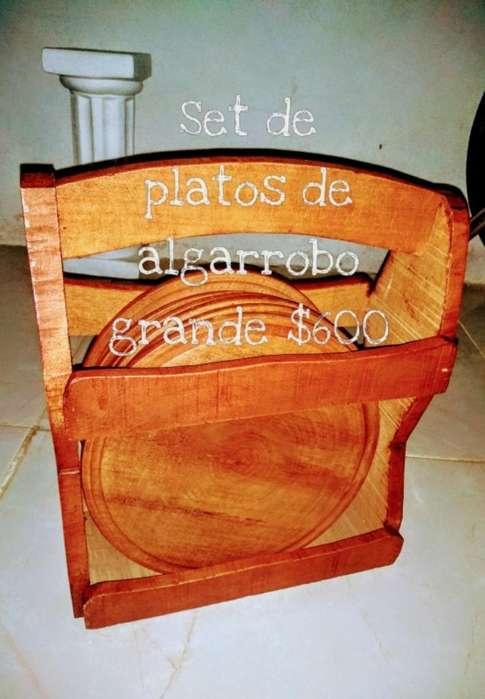 Platos Algarrobo