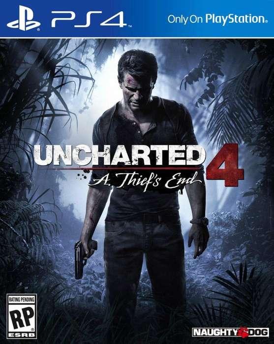Uncharted 4 Nuevo Sellado Fisico Latino