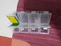 Anzuelos de Pesca Caja X 100 de 2 a 14