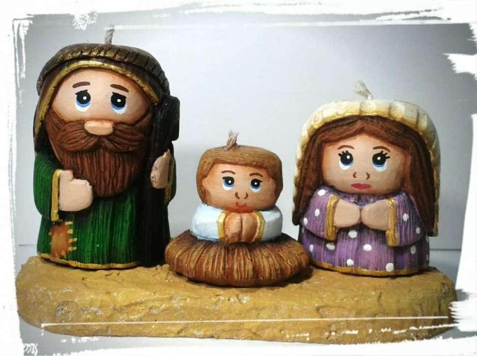 Nacimientos, Velas decorativas, Velas talladas, Navidad