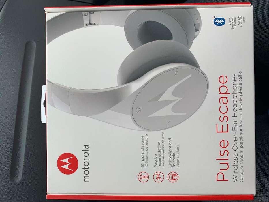 Motorola Pulse Escape Audífonos Inalambricos Blanco <strong>bluetooth</strong> Cambios