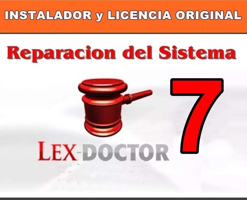 Reparacion solucion de Problemas del Lex Doctor 7 Abogados CHAVEZ COMPUTACION