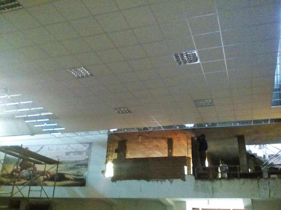 trabajos en drywall melamine piso laminado y servicios generales