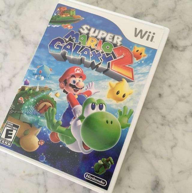 Super Mario Galaxy 2 juego disco de Nintendo wii