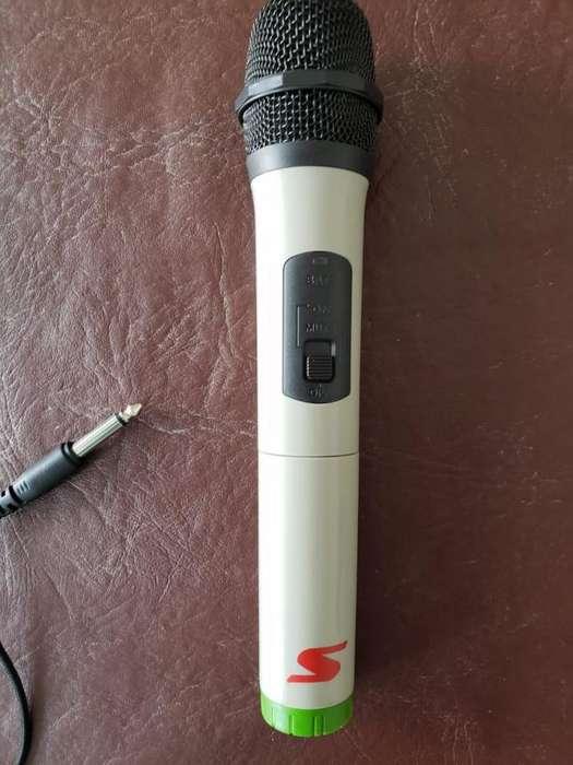 Micrófono Dinámico Inalámbrico Profesional Usb Senon Swm16 USADO