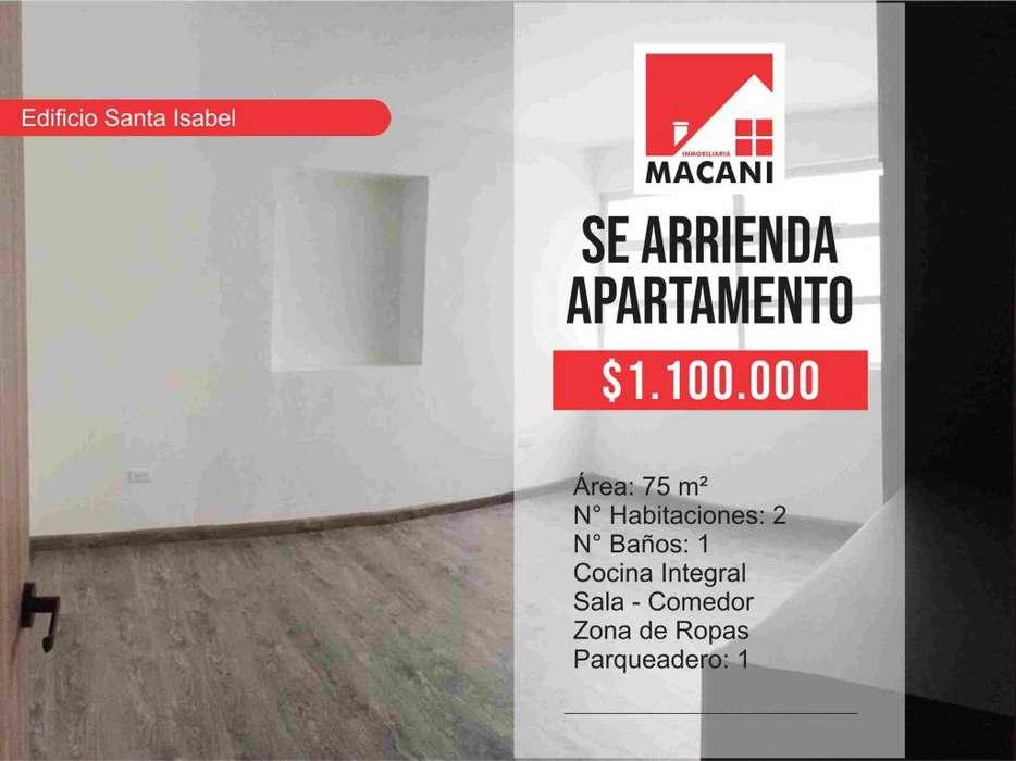 Se Arrienda <strong>apartamento</strong> Edificio Santa Isabel Bogotá