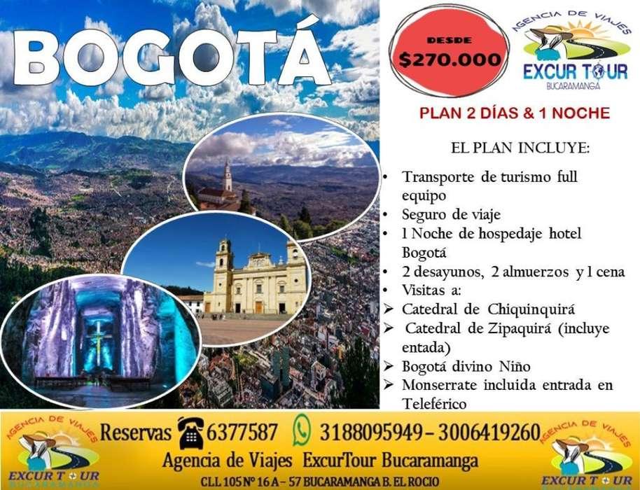 Tour Bogotá- Chiquinquirá Salida de Buca