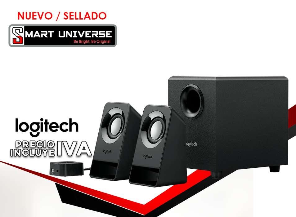 Parlantes Altavoces 2.1 Logitech Z213 PC Con Subwoofer