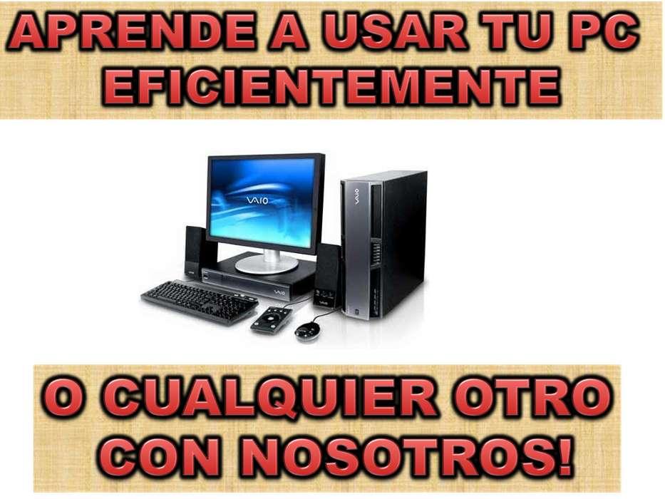 CLASES DE INFORMÁTICA A DOMICILIO, APRENDE A USAR TU PC Y SUS PROGRAMAS.