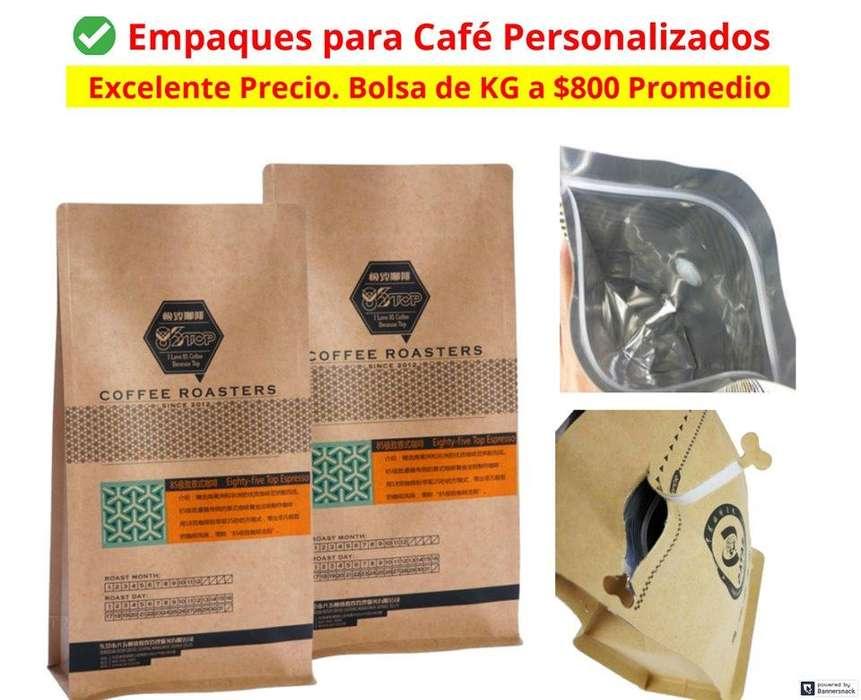 Empaques Para Café Personalizados