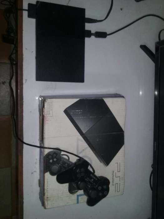 Playstation 2 en Caja Y 10 Juegos