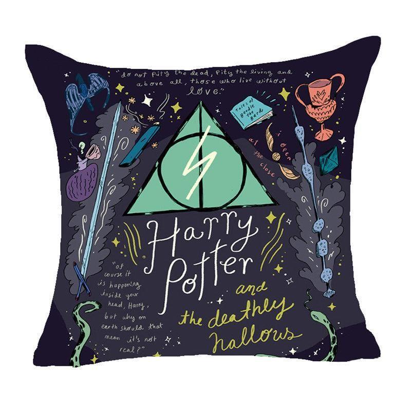 Harry Potter Fundas Para Cojín Con Diseños De La Saga