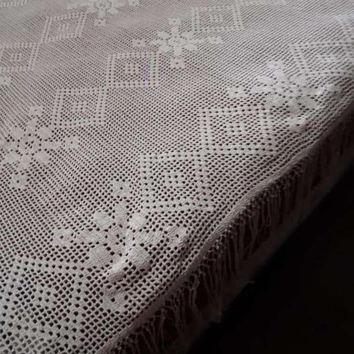 Colcha Tejoda Al Crochet
