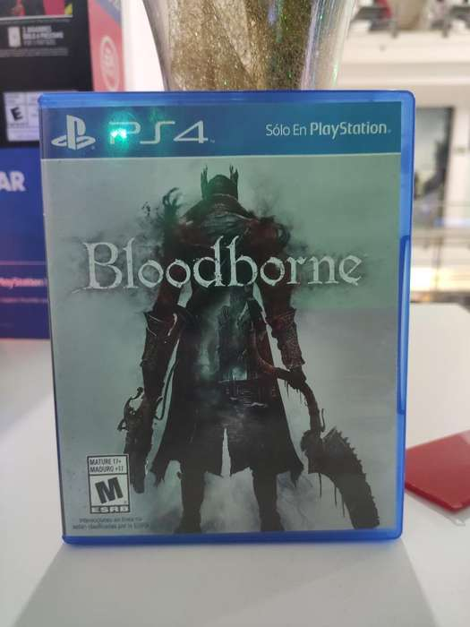 Vendo Bloodborne Usado Ps4