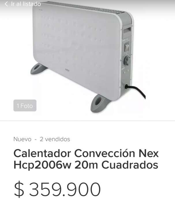 Calentador de aire nex solo se uso dos veces
