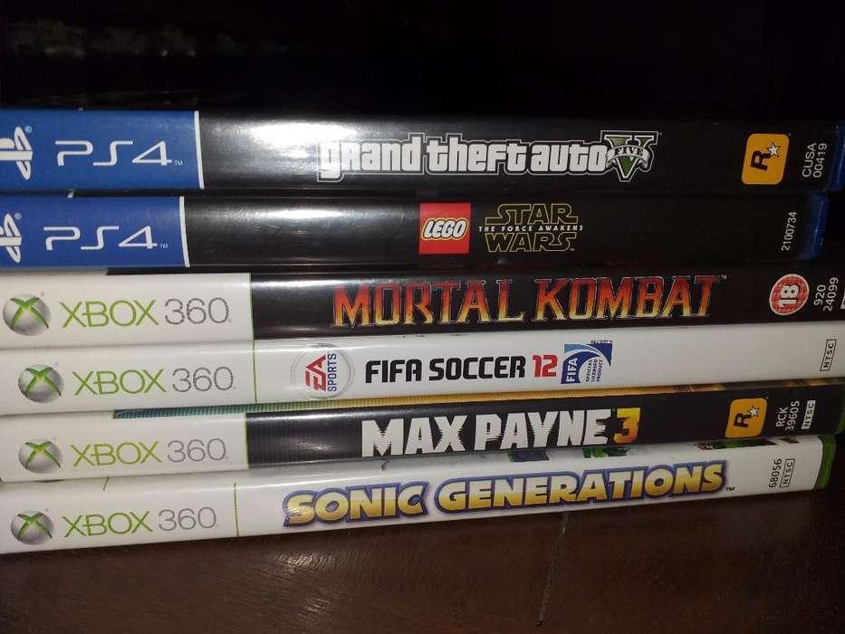 Juegos Ps4 Y Xbox 360