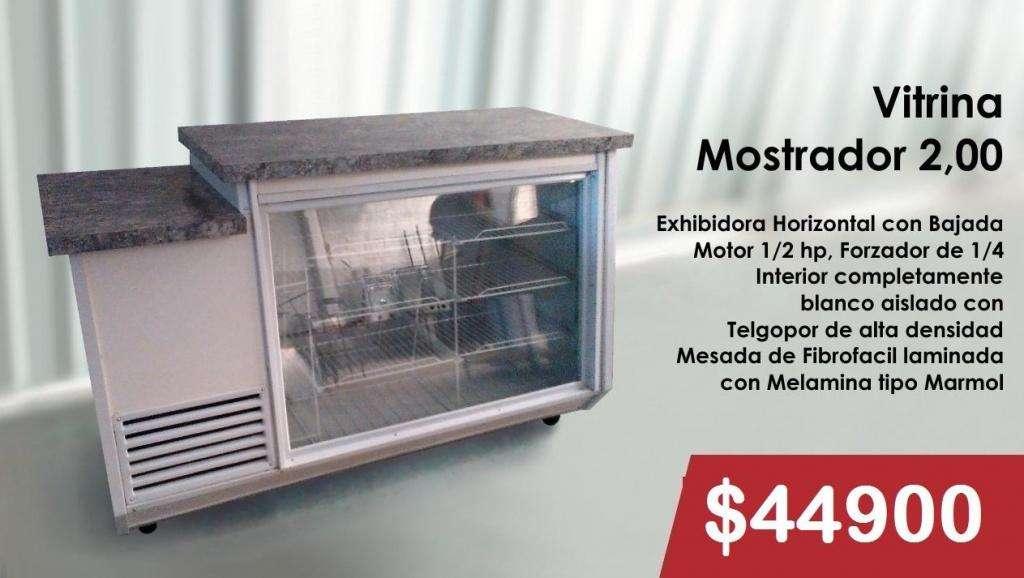VITRINA MOSTRADOR DE 2,00