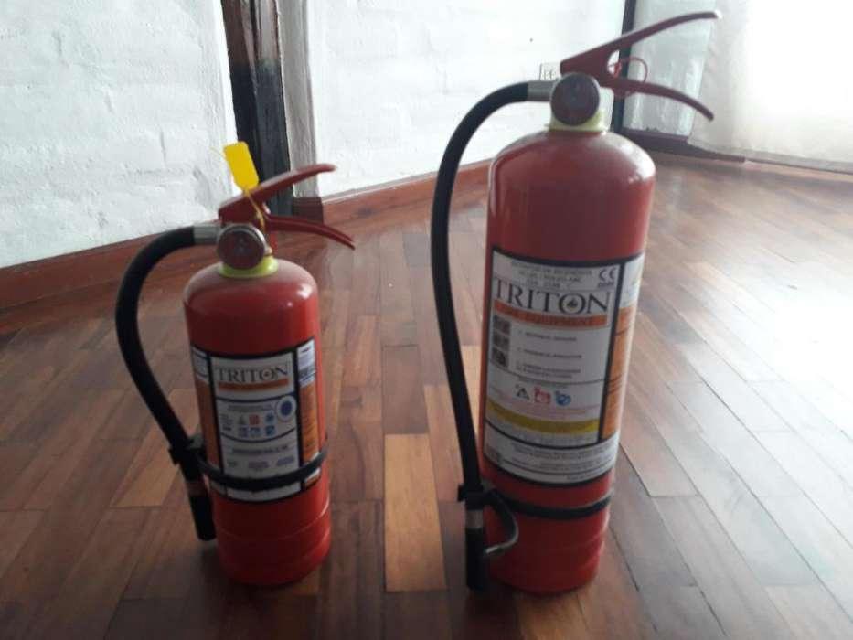 Extintores 2 x 25