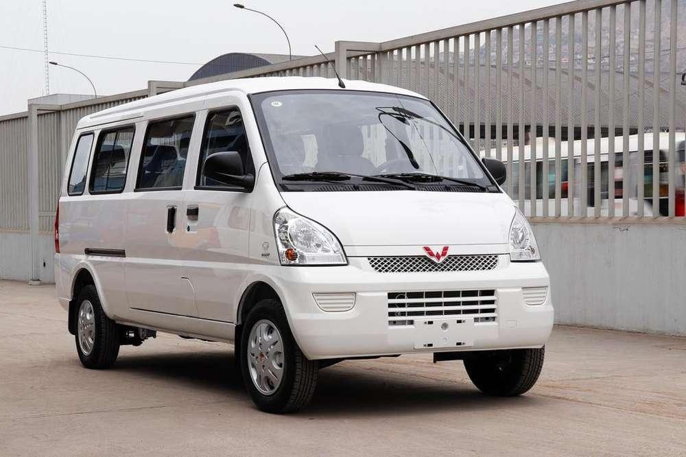MINIVAN 11 ASIENTOS WULING 1500cc Tec Mitsubishi