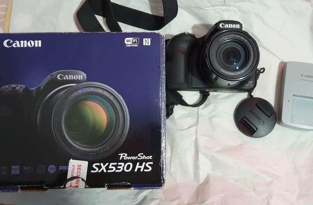 Camara Cannon Power Shot SX530 Hs zoom 50x wifi