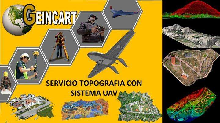 Servicio topografía con DRONE o sistema UAV