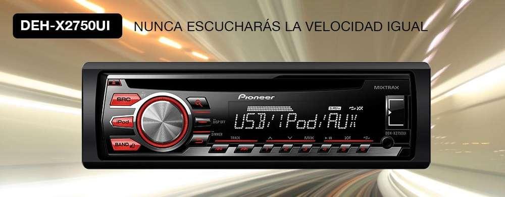 AUTORADIO PIONEER DEH X2750UI